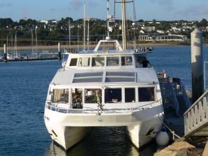 Animation mariage Brest en mer d'Iroise - Embarquement imminent !