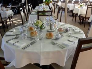 Animation mariage Brest en mer d'Iroise - Décoration de table